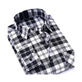 2016 New Men Plaid Long-sleeved Casual Shirts fashion Flannel Slim Fit Chemise Homme Camisa Social Masculina mens shirts