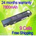 Jigu [Preço especial] 9 células bateria do portátil para samsung np-r519 r530 r522 r519 aa-pb9nc6b r520 r470 r428 r478 q320 bateria r540