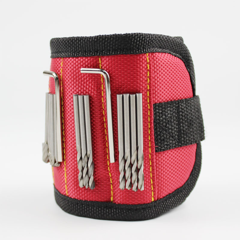 Ourdoor tool Magnetic Wristband with Strong Magnets for Holding Screws, Great for Your Outdoor Tool Bag