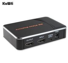 USB de Captura de Vídeo HD 1080 P HDMI Caja Grabadora Game Capture HD juego de captura de vídeo para ps3 ps4 xbox 360 uno vivo 1 Unidades