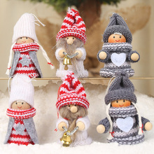 New Santa Claus Angels Christmas Decoration Pendant Cute Doll Xmas Decoration For Home Christmas Tree Hanging Ornament Gifts christmas gift santa claus doll pendant xmas tree decoration