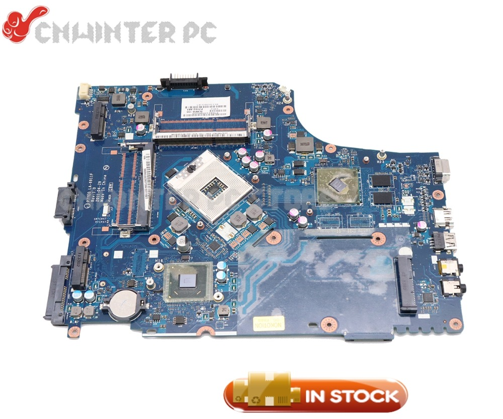 цена на NOKOTION MBBVV02001 MB.BVV02.001 For Acer aspire 7750 7750G Laptop Motherboard P7YE0 LA-6911P HM65 DDR3 HD7400M GPU