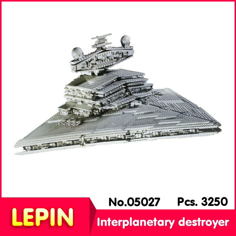 LEPIN 05027 Star Wars Emperor Fighters Star Ship Mobile Building Block 3250Pcs Bricks Compatible With Lepind 10030 lepin 22001 pirate ship imperial warships model building block briks toys gift 1717pcs compatible legoed 10210