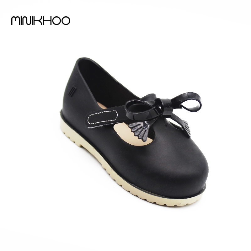 Mini Melissa Princess Sandals Jelly Shoes Autumn Children Soft Comfort Princess Shoes Melissa Girls Sandals Kids Sandals