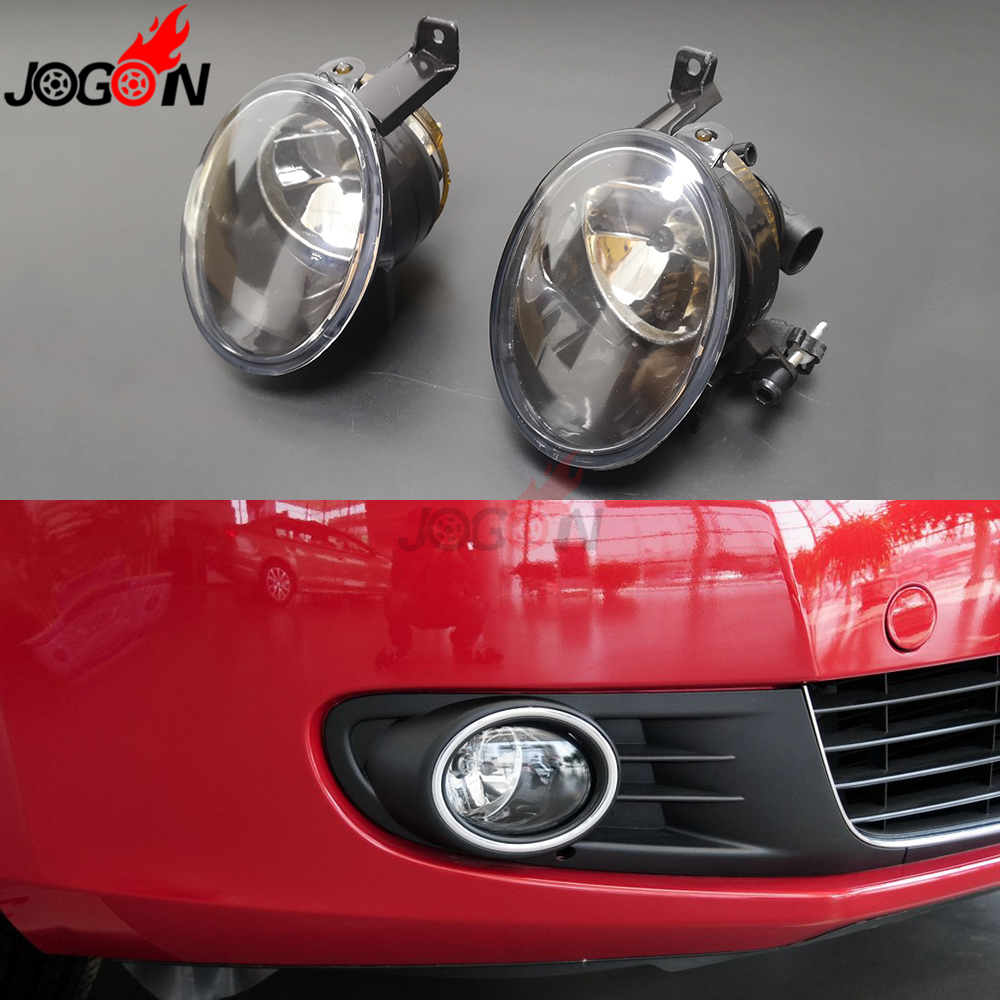 For VW Jetta MK6 Golf 6 EOS Caddy Touran Tiguan Beetle R line SEAT Alhambra Halogen Front Fog Light Driving Lamp Assembly