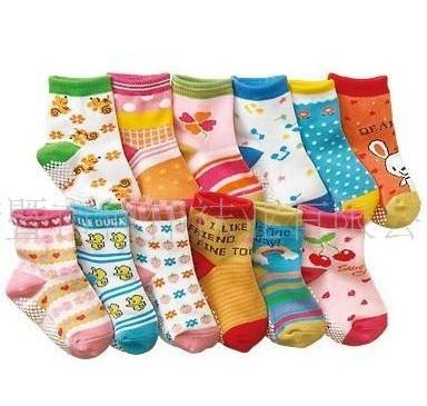 Cotton children socks anti-slip lovely animal fashion kid socks 10pair/lot mix