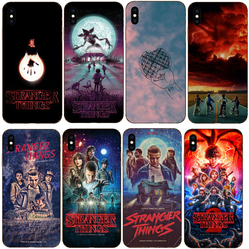 For <font><b>iphone</b></font> 6 7 8 <font><b>Case</b></font> TV <font><b>Stranger</b></font> <font><b>Things</b></font> Soft Silicone <font><b>Phone</b></font> <font><b>Case</b></font> Cover For <font><b>iphone</b></font> 11 11Pro X XS Max <font><b>XR</b></font> 7Plus 8Plus 6SPlus 5S SE image
