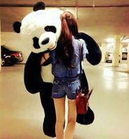 Oversized panda plush toys doll valentine day gift birthday gift super huge panda doll about 180cm