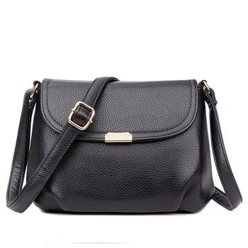 fd3f8b67b8b7 Модные женские маленькие сумки из мягкой яловой кожи Натуральная кожа  винтажная женская сумка/женские сумки через плечо/сумка через плечо