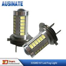 H7 LED 33SMD High Power Daylight Car LED Fog Driving Lights Automobile Lights H11 H8 H9 9005 9006 Auto Lamp