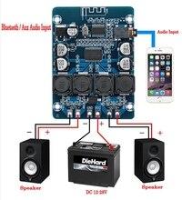 XH M314 TPA3118 2x45W 12V 24V Stereo Bluetooth audio Amplificatore di potenza Digitale Consiglio amplificador