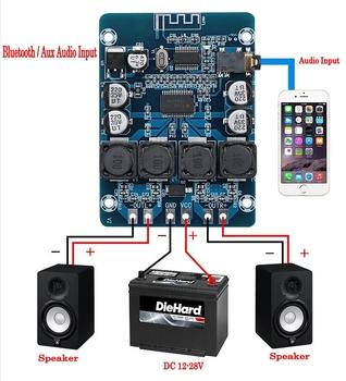 XH-M314 TPA3118 2x45W 12V 24V Stereo audio Bluetooth karta do cyfrowego wzmacniacza mocy amplificador tanie i dobre opinie TCXRE 45 w 2 (2 0)