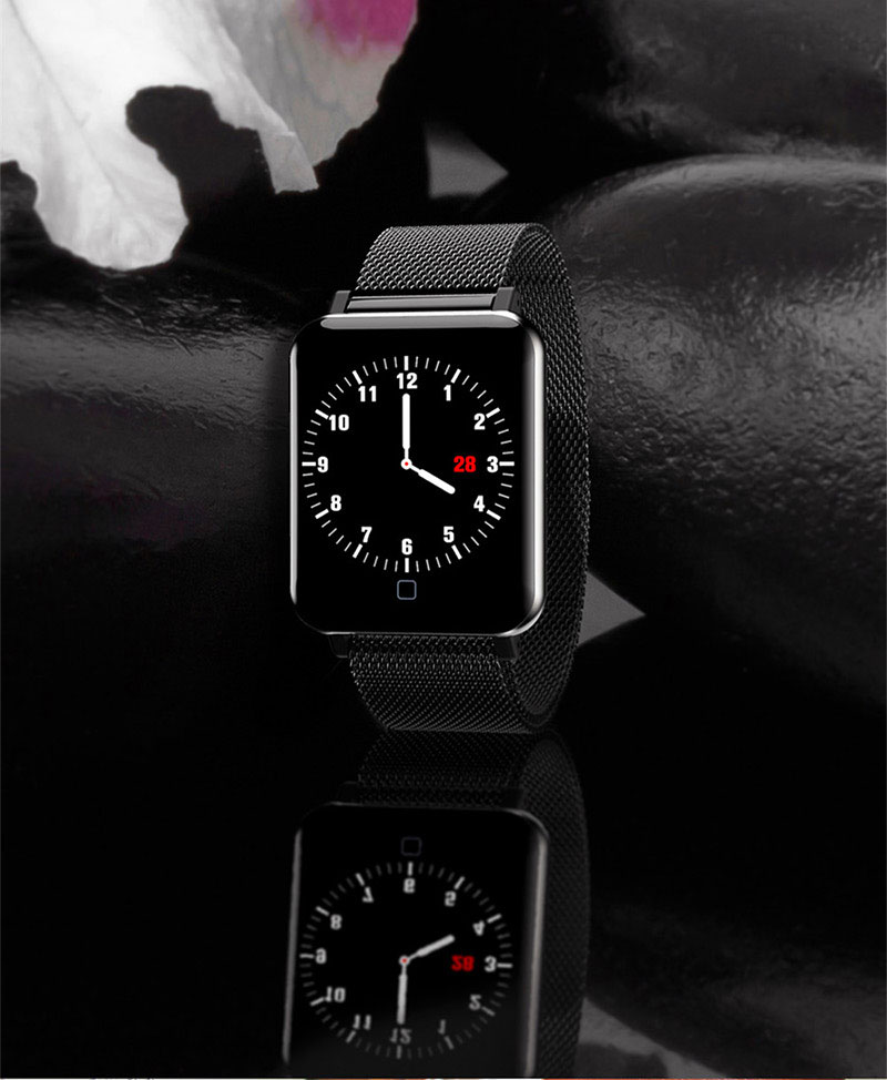 VERYFiTEK M19 Smart Watch Blood Pressure Heart Rate Monitor Women Men Clock Sport Fitness Tracker Smartwatch For Android IOS (12)
