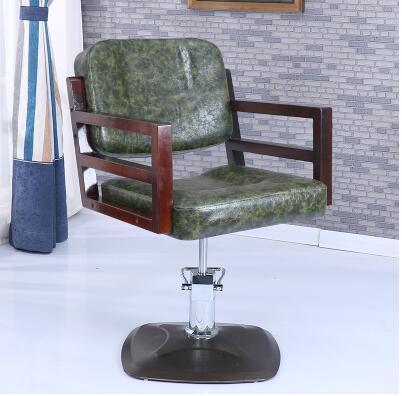 Парикмахерские ретро Утюг промышленных ветер волосы стул Прямая с фабрики Парикмахерская специальный стул - Цвет: 22