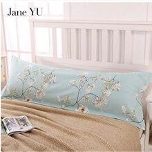 JaneYU Double Pillowcase Lovers Wedding Lengthening 1.2 Meters /1.5/1.8 M Long Cotton Large Size Pillow Case