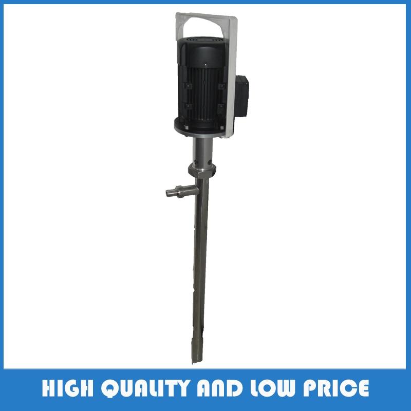Big Power 1100w Stainless Steel 316 380V/50HZ Vertical Glue Pump Electric Screw Pump Food Grade Honey/Jam/Salad Oil Pump цены онлайн