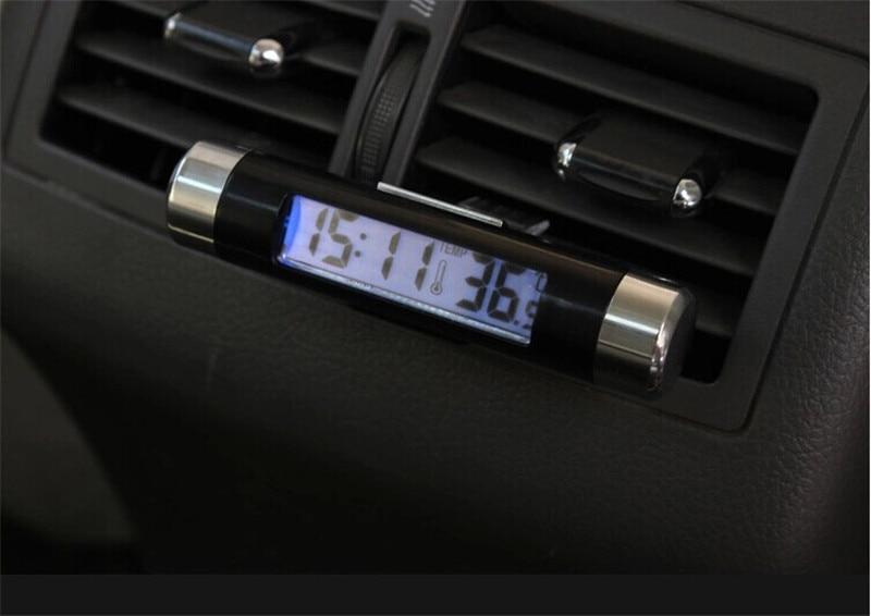 MyHung Автомобиль Электронные ЖК-дисплей термометр электронный Uminous часы поставки авто для всех авто аксессуары