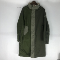 Best Version Fear Of God Women Men Winter Jacket Coats Hiphop FOG Army Green Cut Out