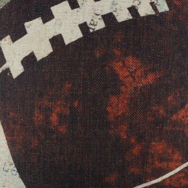 Retro American Football Cushion Cover 4