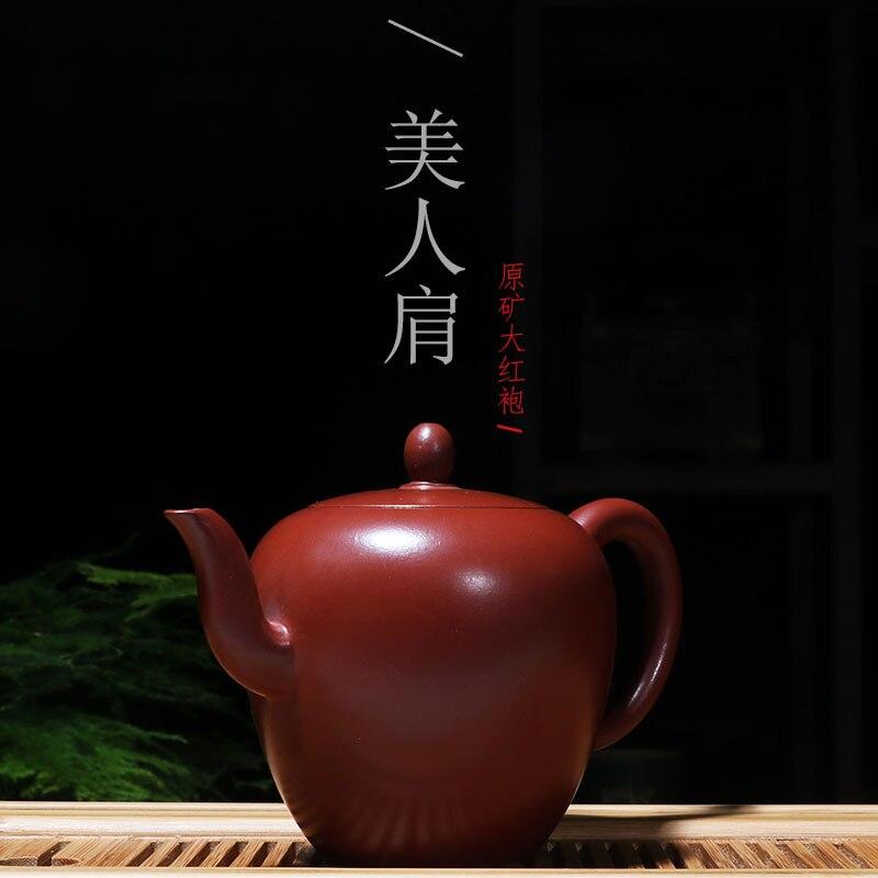 Original Dahongpao classique beauté épaule violet pot de sable ensemble de thé grande capacité cadeaux personnalisés