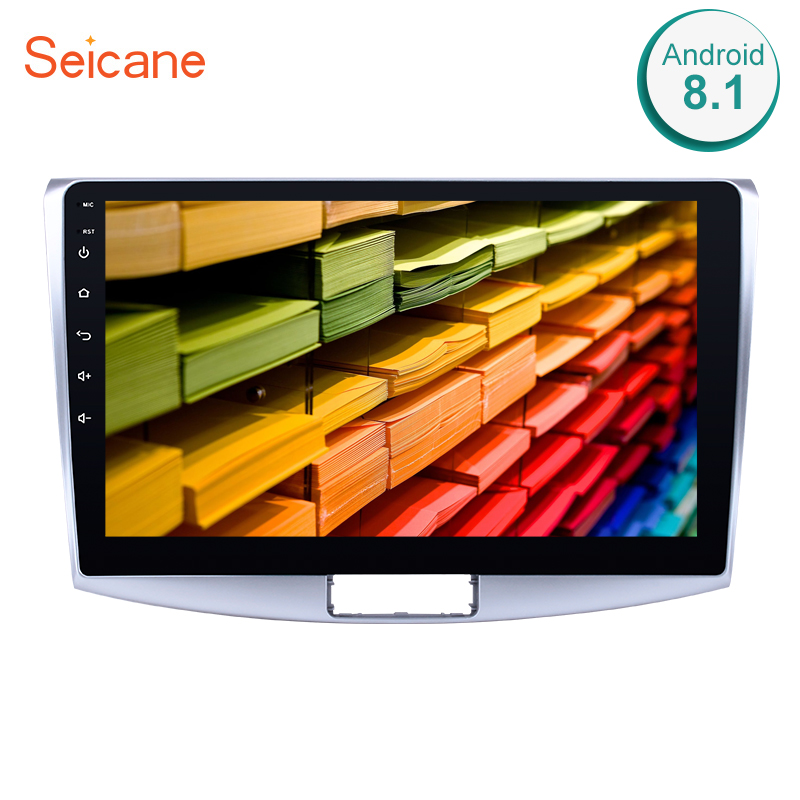 Seicane 10.1 Inch 2Din <font><b>Android</b></font> 8.1 <font><b>Car</b></font> Head Unit Player <font><b>Radio</b></font> GPS Navi For 2012 2013 2014 VW Volkswagen Magotan B7 Bora <font><b>Golf</b></font> <font><b>6</b></font> image