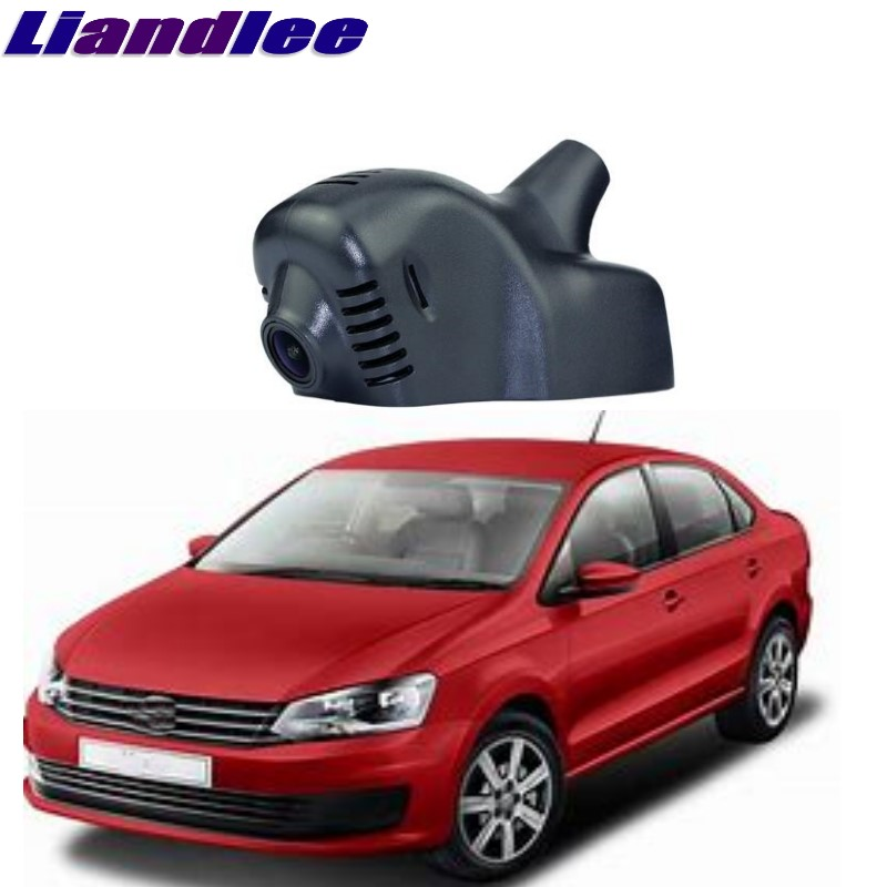 Liandlee For Volkswagen VW Vento / Polo Sedan 2010~2018 Car Black Box WiFi DVR Dash Camera Driving Video Recorder liandlee for volkswagen vw golf mk5 a5 1k mk6 a6 5k mk6 a7 2003 2018 car black box wifi dvr dash camera driving video recorder