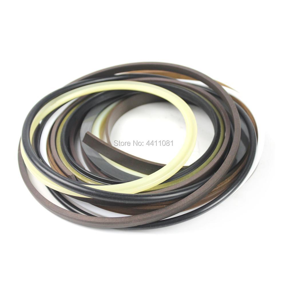 For Hitachi EX300-2 Arm Cylinder Seal Repair Service Kit 9144511 9123264 Excavator Oil Seals, 3 month warranty 9180582 excavator arm cylinder seal kit for hitachi ex300 5