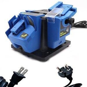 Image 3 - Multifunktionale elektrische messer spitzer schleifen schere spitzer haushalt spitzer dremel power tools
