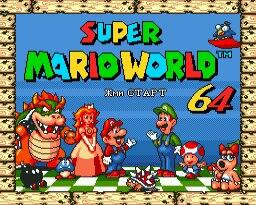 Super Marioworld 64 16 poco SEGA MD tarjeta de juego para Sega Mega Drive para Génesis