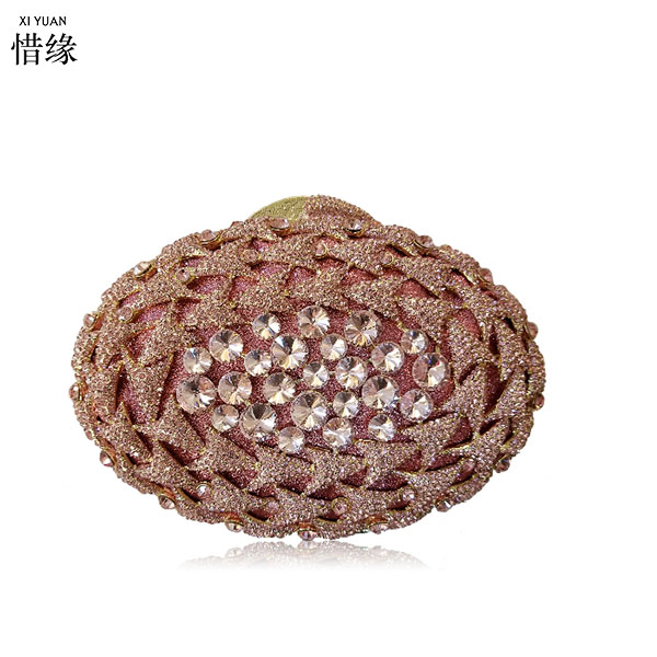 все цены на XIYUAN BRAND pearl beaded Rhinestone Flower Evening Clutch Purses Wedding Bridal Clutches Women Party Cocktail Minaudiere gold