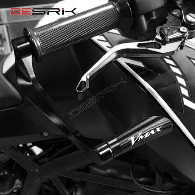DESRIK Für YAMAHA VMAX 1200 1700 V MAX 1 Paar Motorrad Zubehör Bremse Kupplung Hebel Schutz Hand Grip Schutz Schutz