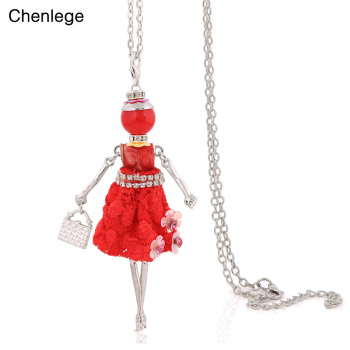 Chenlege стильные французские 2017 новые женские ожерелья и кулоны модное ожерелье ювелирные изделия большие Чокеры Женские Подвески Длинные Це...