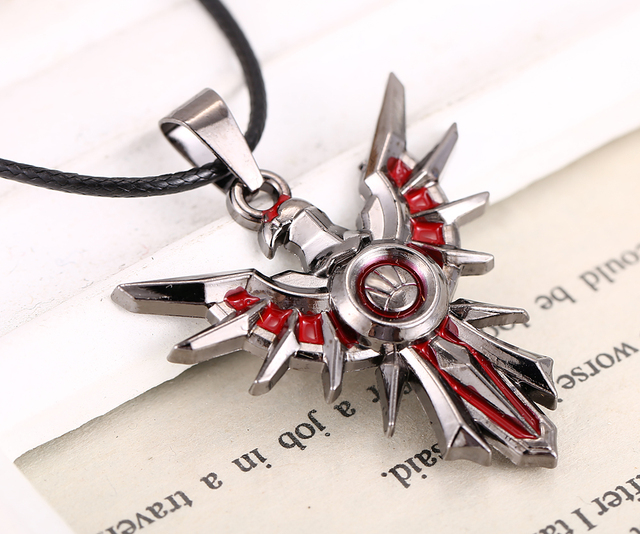 Leona Shield Metal Necklace