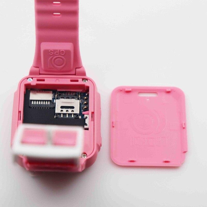 GPS tracker montre enfants Bluetooth caméra enfants étanche 2.5D écran tactile sûr bébé SOS Location montres intelligentes K3 D - 5