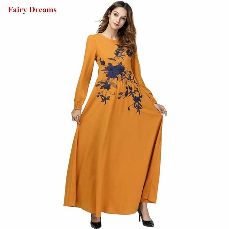 12ed144185 Detail Feedback Questions about Dubai Abayas For Women Muslim Dress ...