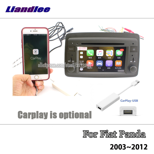 Liandlee 6.2 pouces Android 8.0 pour Fiat Panda 2003 ~ 2012 stéréo vidéo Wifi lecteur DVD carte Carplay GPS Navi Navigation multimédia 2