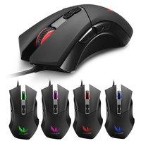 2PCS Gaming Mouse Gamer Laptop PC Mice USB Wired Ergonomics Design Desktop Computer Peripherals Plug And Play
