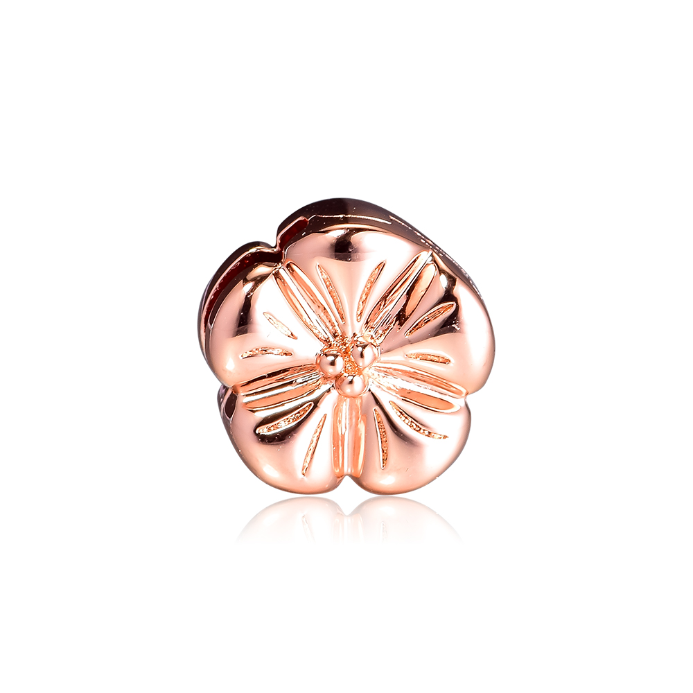 CKK Beads Rose Classic Flower Clip Charms 925 Sterling Silver Fits Reflexions Bracelets Bead for Jewelry Making kralen perlesCKK Beads Rose Classic Flower Clip Charms 925 Sterling Silver Fits Reflexions Bracelets Bead for Jewelry Making kralen perles