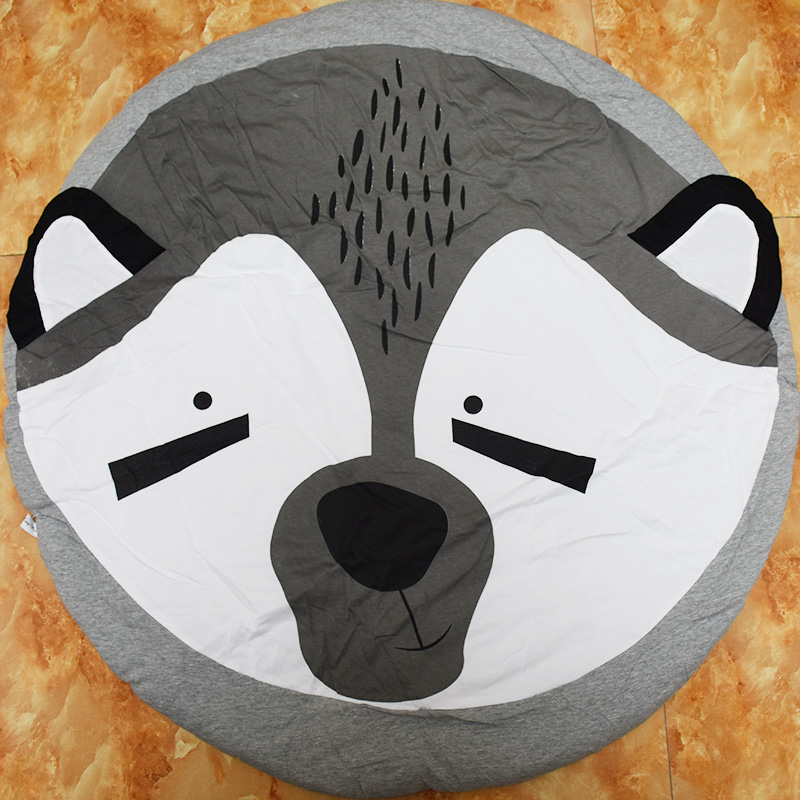 New arrival Cotton Cute Fox Animal baby kids font b play b font font b mat