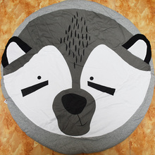 New arrival Cotton Cute Fox Animal baby kids play mat baby game mat kids room decor