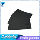 1 pc*CraftBot XL 3D Printing Build Surface 300 x 200 mm Black 8x12 inch Stick Heated Printing Bed Tape For Prusa i3 MK3