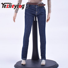 цена на Women's Skinny Jeans 1/6 Scale Clothes Accessories 12