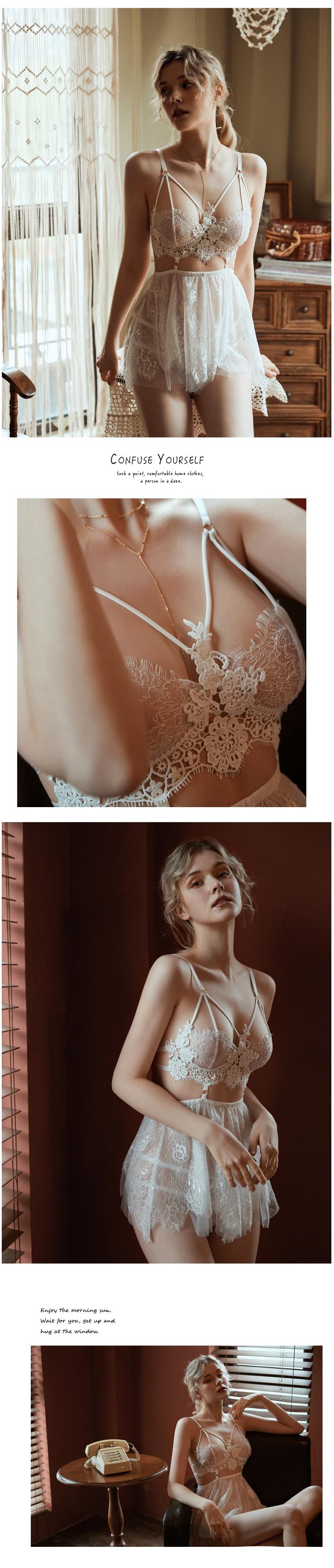 HTB1LsCFak9E3KVjSZFrq6y0UVXa2 White Angel Sexy Dress