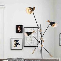 New PL9697 Creative Nordic Post modern Floor Lamp Eye protecting LED Study Room Living Room Sofa Villa Model Room Art Floor Lamp