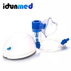 Handheld portátil Mini Compressor Inalador para A Asma Nebulizador Médica Máquina Fumegante Dispositivo Automizer Máscara Para Adulto Da Família da Criança