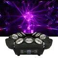 RGBW 4в1 9x12 Вт треугольный светодиодный светильник-паук с движущейся головкой, яркий светодиодный светильник с движущейся головкой, отличный эффект для вечерние - фото