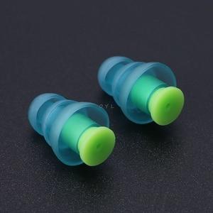 Image 3 - Силиконовые затычки для ушей, 1 пара, шумоподавление, многоразовые беруши для защиты слуха, новейшие
