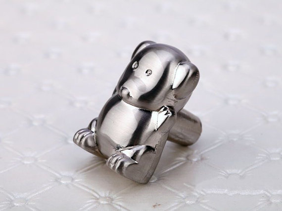Kids Dresser Knob Drawer Knobs Pulls Handles / Baby Animal Decorative Knobs  / Childrens Cabinet Knobs