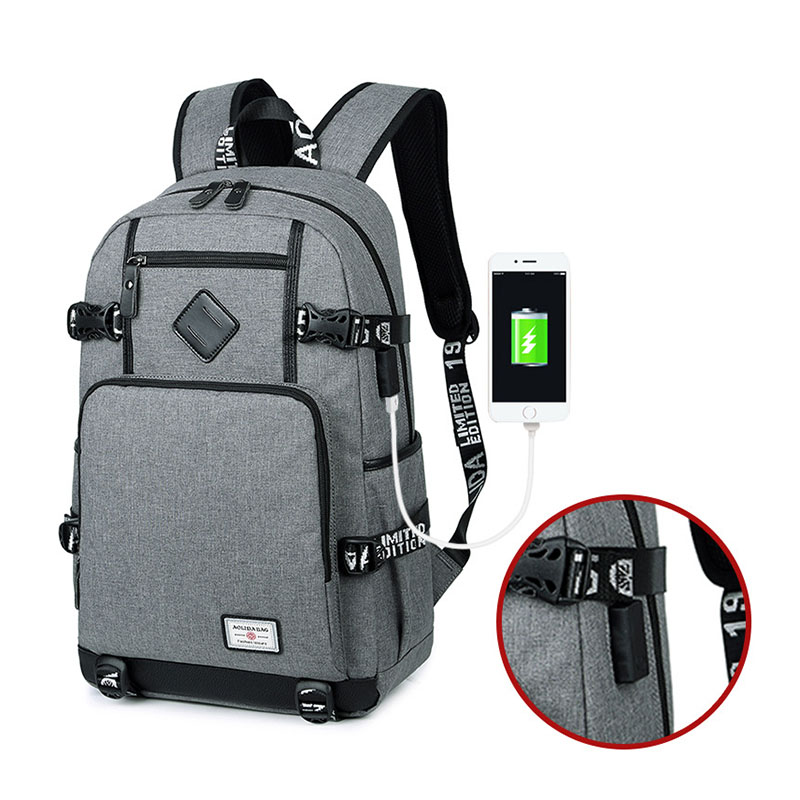 Men Backpack Back To School Bags For Teenage Boys Bagpack Male USB Backpack Laptop Backpacks Teenagers Bag Mochila Masculina fengdong 2 pcs men travel backpack male chest bag high school backpacks for boys kids back pack bagpack women laptop bag 13 14