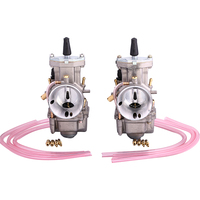 32mm 34mm Motorcycle Parts Motor Carburetor Modification High Quality Carb With Power Jet Fit Race Scooter